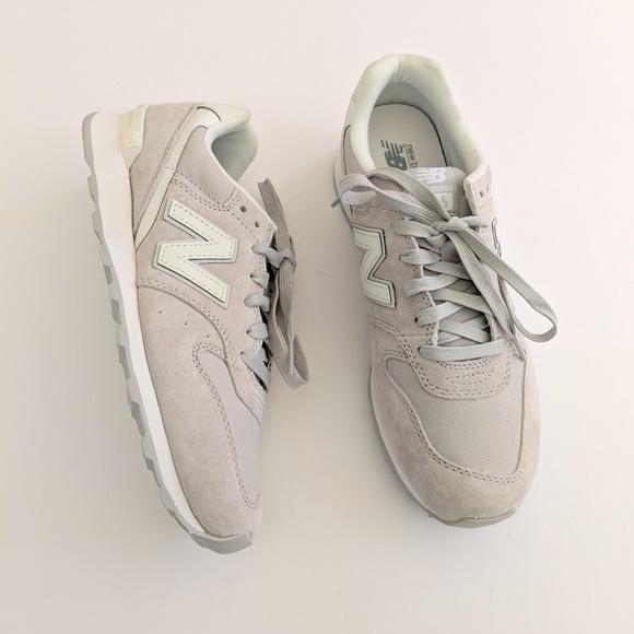 Balance 696 Grey Suede Shoes   Poshmark